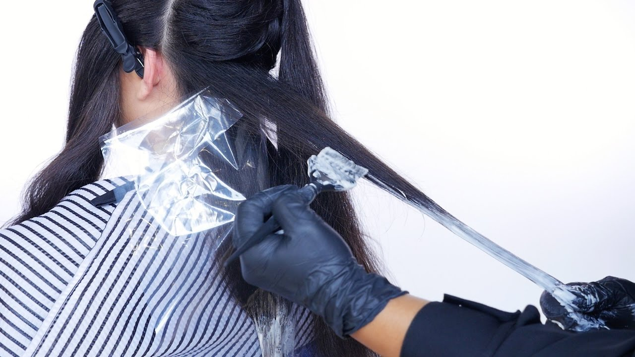 How To Ombre Dark Hair Thesalonguy