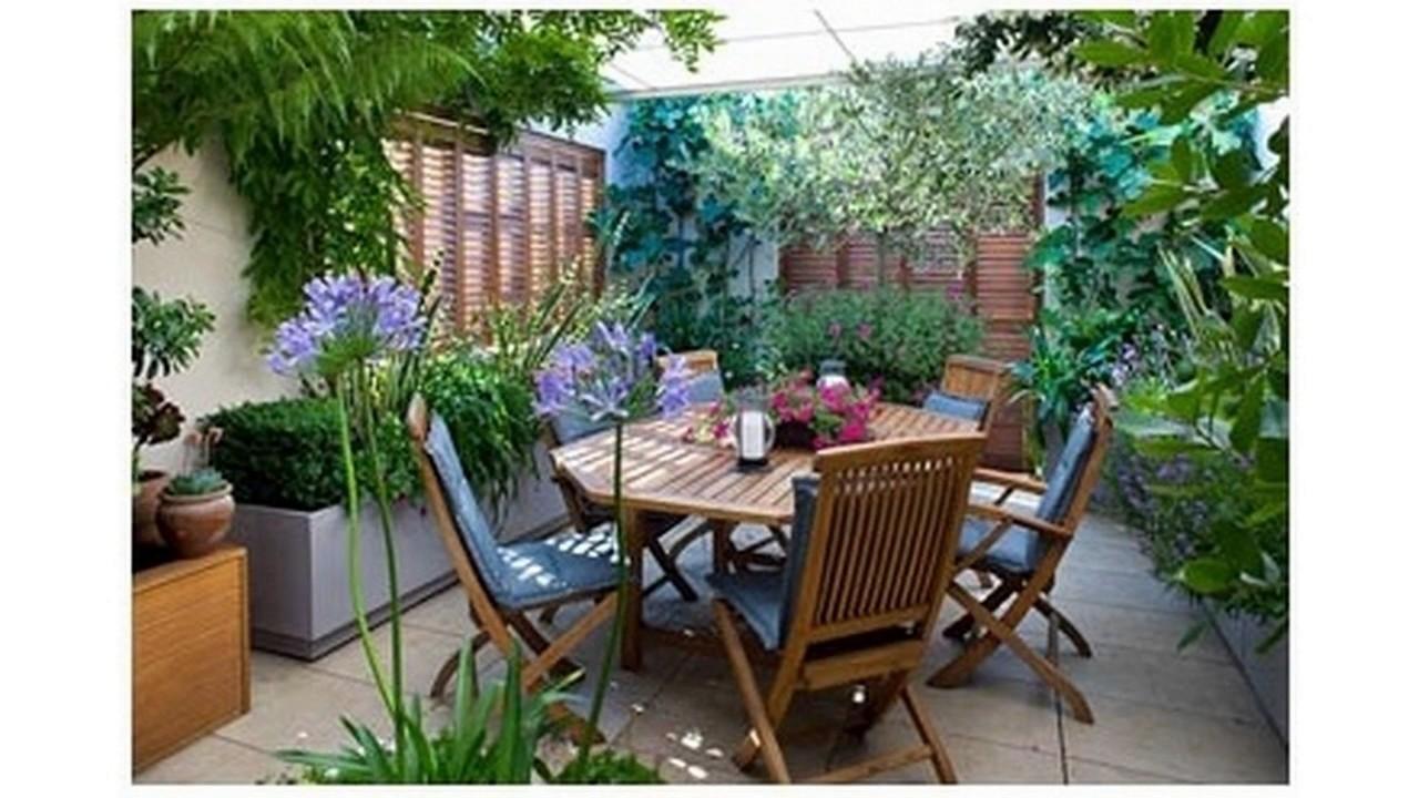 Peque as ideas de jard n con terrazas youtube for Bancos de terraza y jardin