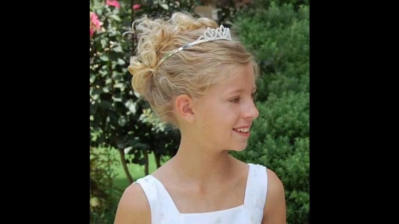 Wedding hairstyles for kids girls - Little Girl Wedding Hairstyles