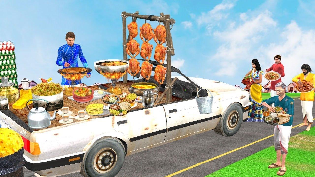 कार ट्रक सड़क का भोजन Car Truck Street Food Comedy Video हिंदी कहानिया Hindi Kahaniya Comedy Video