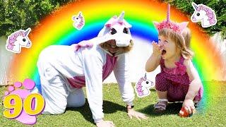 Единорог в гостях у Бьянки - Привет, Бьянка и мама Маша Капуки игры для детей