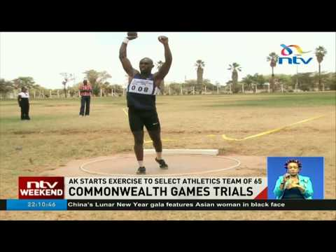 Kenya to finalize selection of the Commonwealth games team