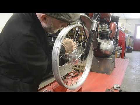 BSA C15S Wheel Upgrade.