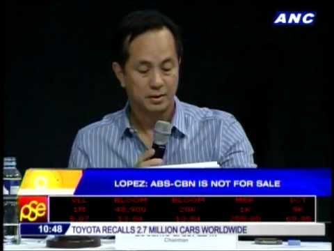 No talks to sell ABS-CBN: Lopez