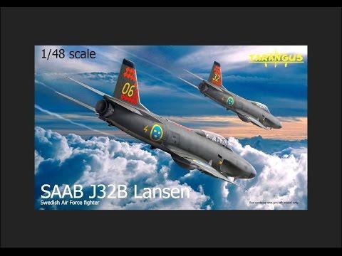 Tarangus 1/48 SAAB J32B Lansen