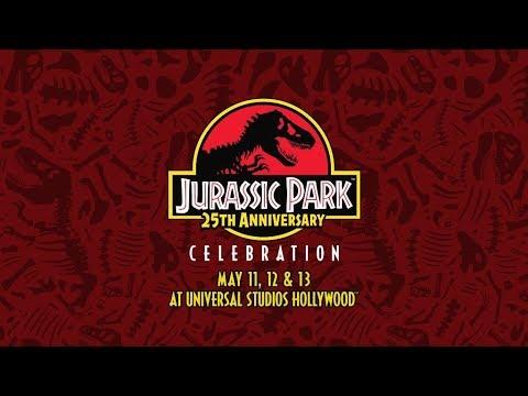 Universal Studios Hollywood Jurassic Park 25th Anniversary Celebration