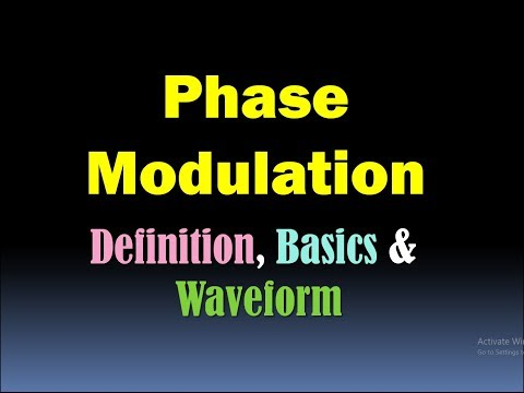 Phase Modulation (Basics, Definition and Waveform) [HD]