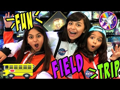 Field Trip - Last Day Of School - California Science Center Los Angeles : VLOGIT // GEM Sisters