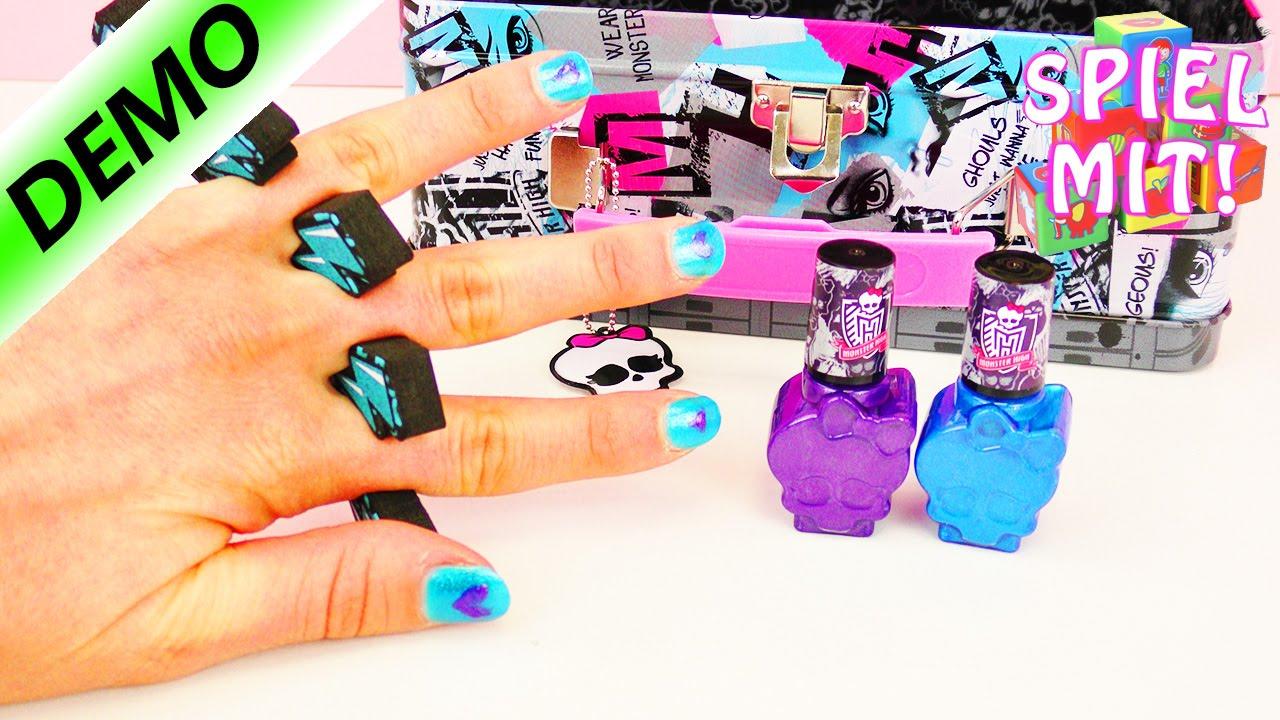 Monster High Nagellack | Kathi macht sich ein monstermäßiges ...