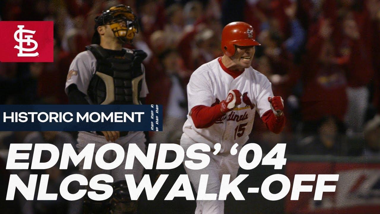 Edmonds' NLCS Game 6 Walk-Off
