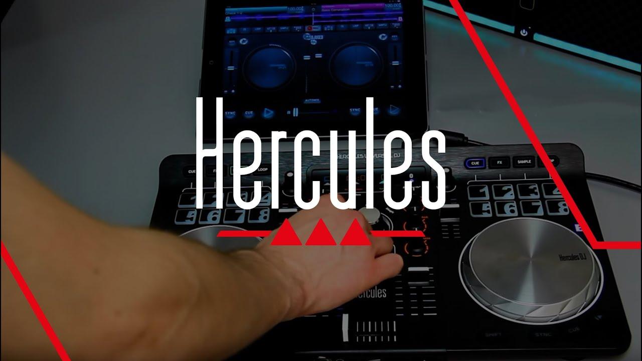 hercules universal dj mode3 3 tablet youtube. Black Bedroom Furniture Sets. Home Design Ideas