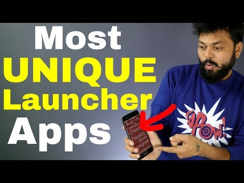 TOP 4 MOST UNIQUE ANDROID LAUNCHER APPS |You Should Try Right Now