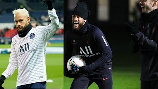 Neymar Jr. at training session| PSG Training session live | PSG vs Monaco 2020
