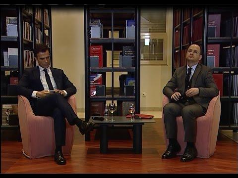 Bashkëbisedim mbi Evropën në COD Kryeministri. Ditmir Bushati - Sandro Gozi