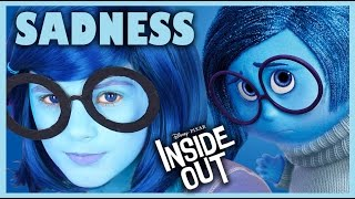 INSIDE OUT SADNESS MAKEUP TUTORIAL!  | DISNEY PIXAR COSPLAY! |  KITTIESMAMA