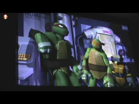 Teenage Mutant Ninja Turtles (Nickelodeon show Season 2) New York Comic Con Panel