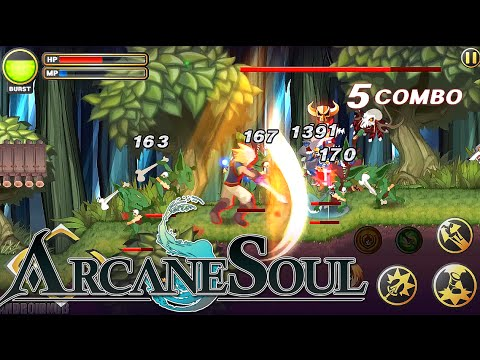 Arcane Soul Android iOS Gameplay (Action RPG)