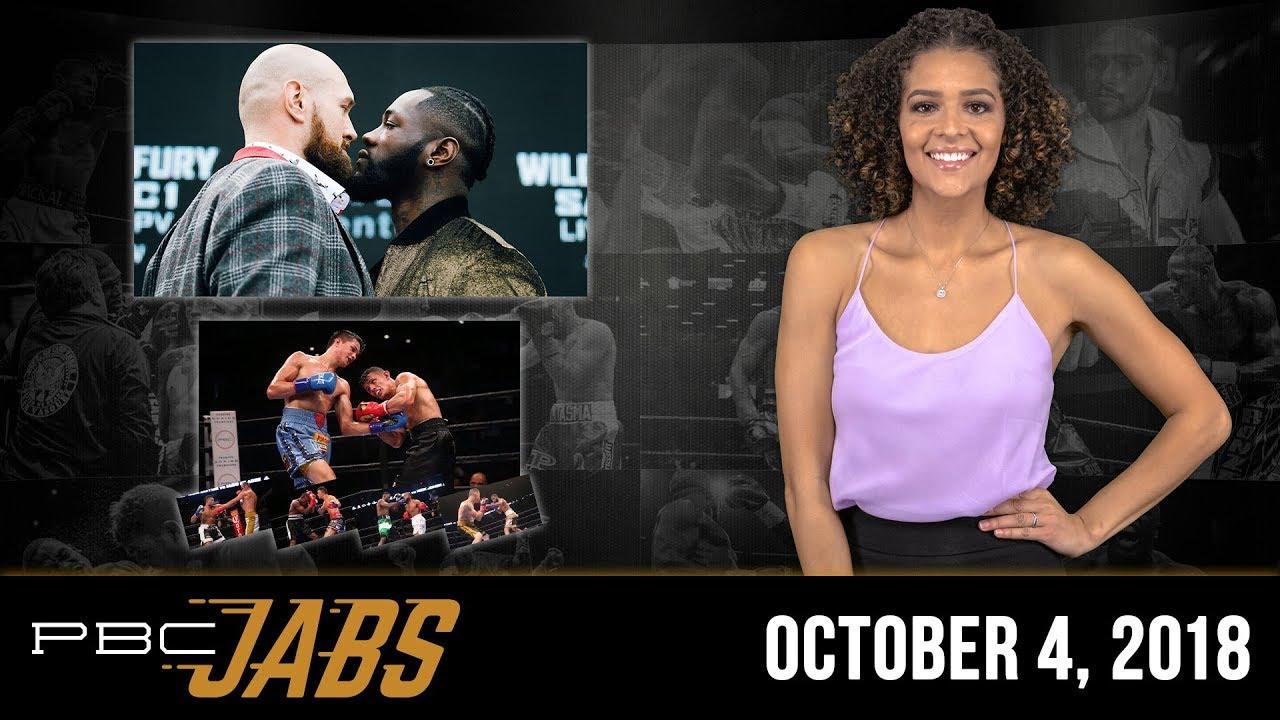 PBC Jabs: October 4, 2018