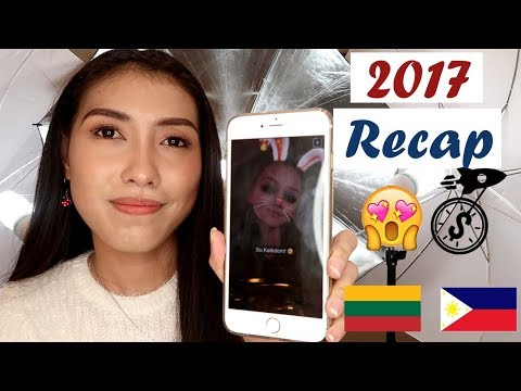 "My 2017 in Lithuania""Applying for a Job""