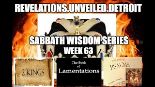 Sabbath WISDOM Celebration Series-Week 63. Remembering OUR Royalty, PAIN & Prayer.