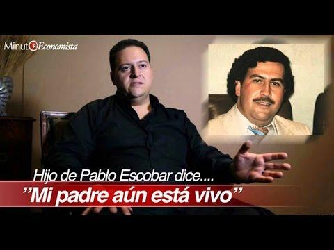 Hijo de Escobar REVELA NUEVOS SECRETOS DE SU PADRE