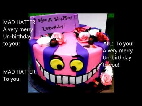 13 The Unbirthday Song part 1