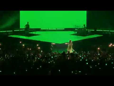 Billie Eilish  - Wish You Were Gay LIVE 4K In Saint-Petersburg, Russia. 28.08.2019