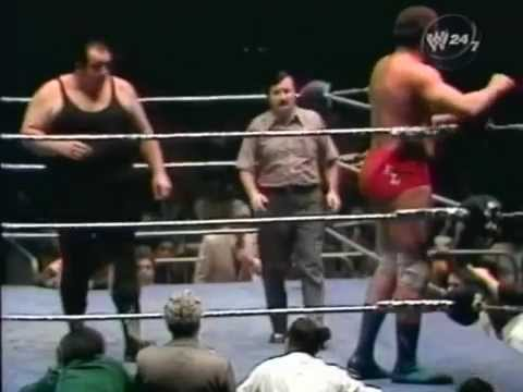 Ernie Ladd vs Gorilla Monsoon