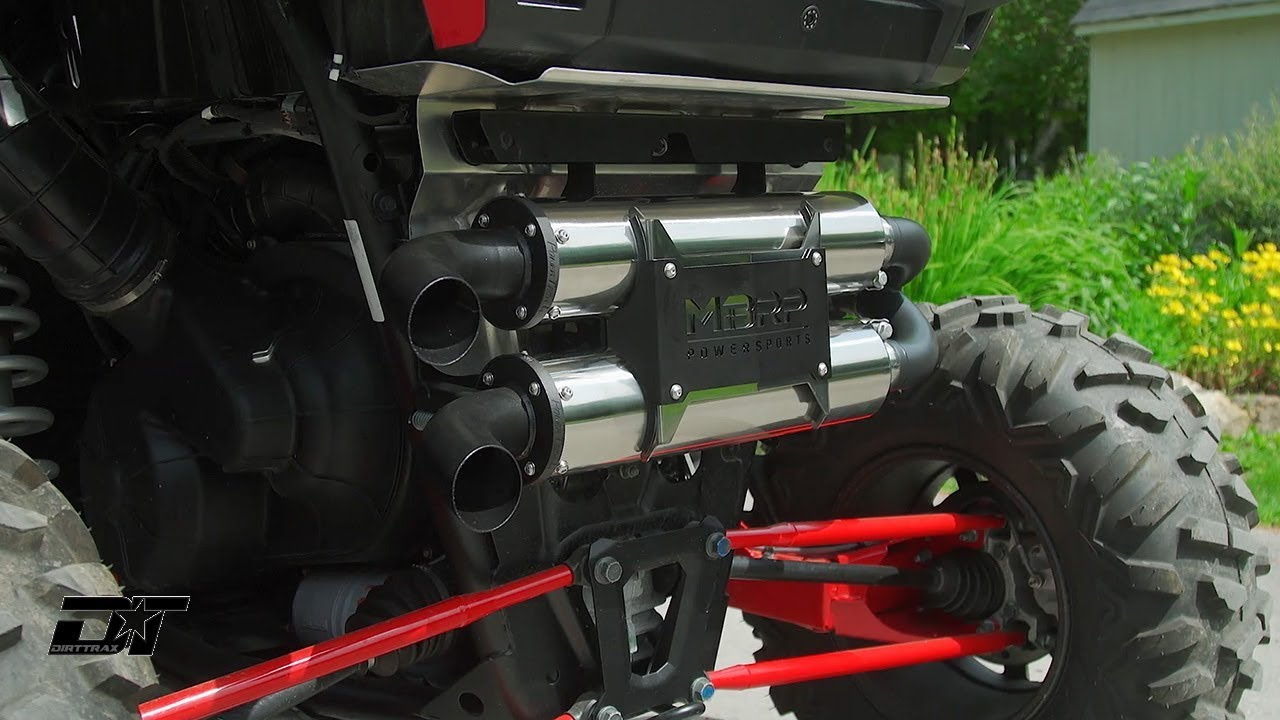 MBRP POWERSPORTS RZR Exhaust Install