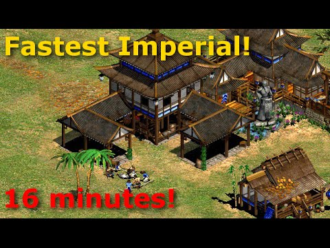 Age of Empires II - FASTEST IMPERIAL EVER