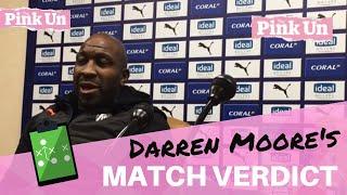 West Brom 1-1 Norwich City ¦ Darren Moore verdict