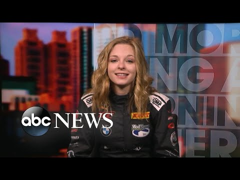Download Youtube: Teen opens up about deferring Harvard to pursue her racecar-driving career