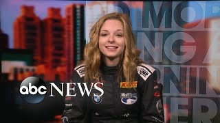 Teen opens up about deferring Harvard to pursue her racecar-driving career