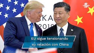 """China preferiría que Trump, considerado un personaje """"imprevisible"""" por Pekín, pierda la reelección en noviembre y ha """"incrementado sus esfuerzos de injerencia"""" de cara a la votación, estimaron este viernes servicios de inteligencia de Estados Unidos"""