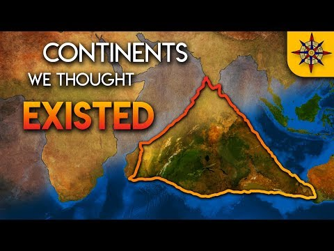 Continents We Thought Existed