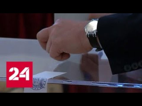 Россияне активно голосуют на участках в Китае - Россия 24