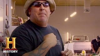 Counting Cars - Scott's Shop Tour | History