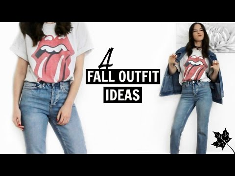 4 FALL OUTFIT IDEAS 2016