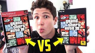 GTA 3 de PS2 vs GTA 3 de PC!! COMPARACIÓN GRAND THEFT AUTO III