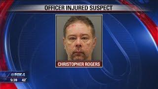 Man bit off part of Denton police sergeant