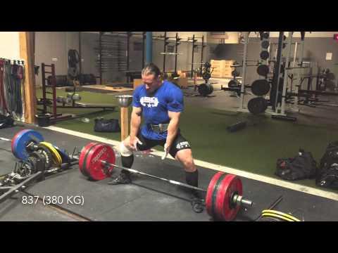 Dan Green  881 Deadlift 400 kg
