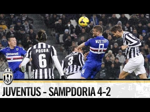 Juventus-Sampdoria 4-2  18/01/2014   The Highlights