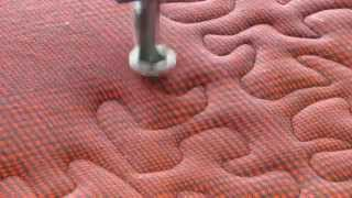 Quilting Master IV making a comfy flannel quilt. - Lancaster County Quilting Creations