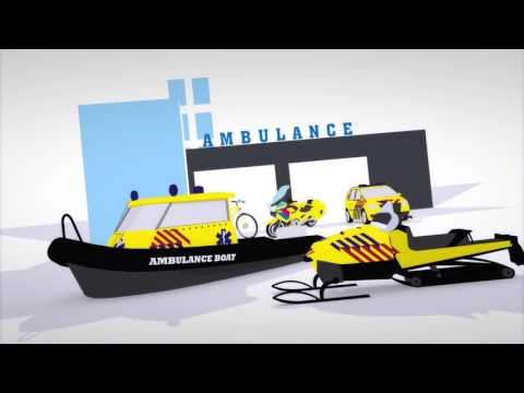 Ambulance care in The Netherlands