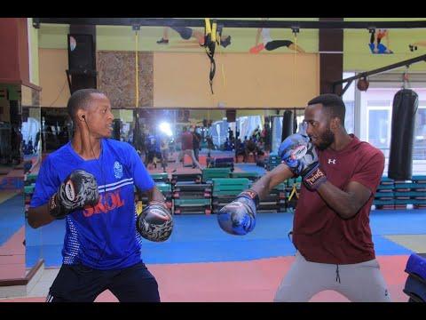 Rayon Sports  muri 'Gym' mbere yo guhura na Al Hilal