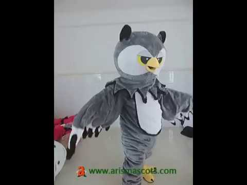Owl mascot costume for sale