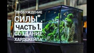 Пробуждение силы. Часть 1. Создание хардскейпа.  Природный аквариум. акваскейп. nature aquarium