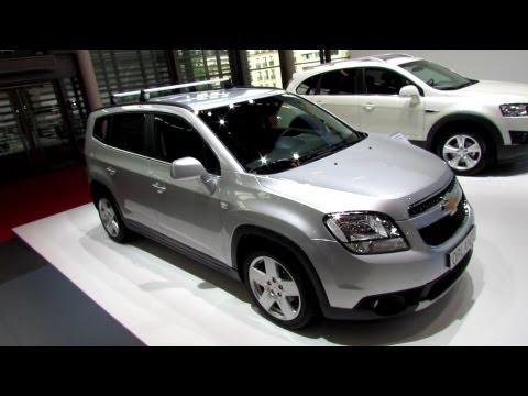 2013 Chevrolet Orlando LTZ Diesel - Exterior and Interior Walkaround - 2012 Paris Auto Show