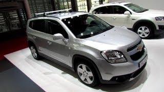 Chevrolet Orlando Show Car Videos