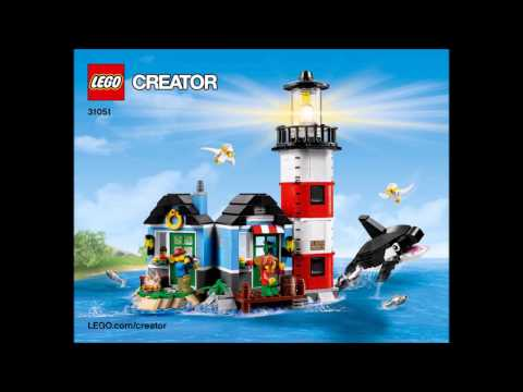 LEGO Creator 31051 Lighthouse Point 3 in 1 Instructions DIY Book